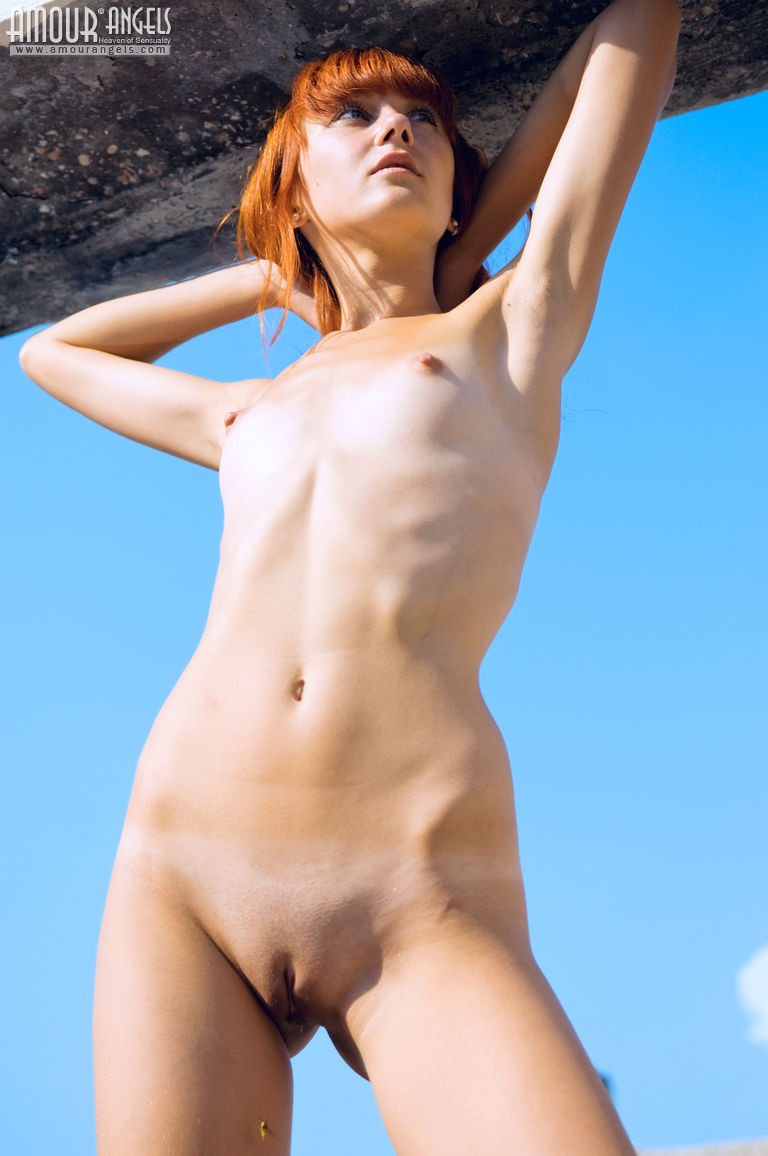 Think, that Horny redhead tiny young girl