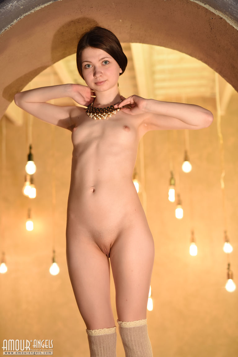 Very young nude girl really. All